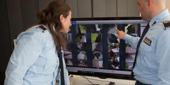 videosorveglianza a distanza con telecamere roma