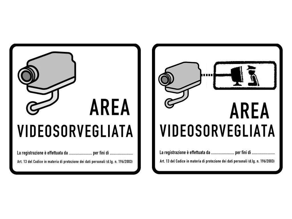cartello videosorveglianza normativa garante privacy