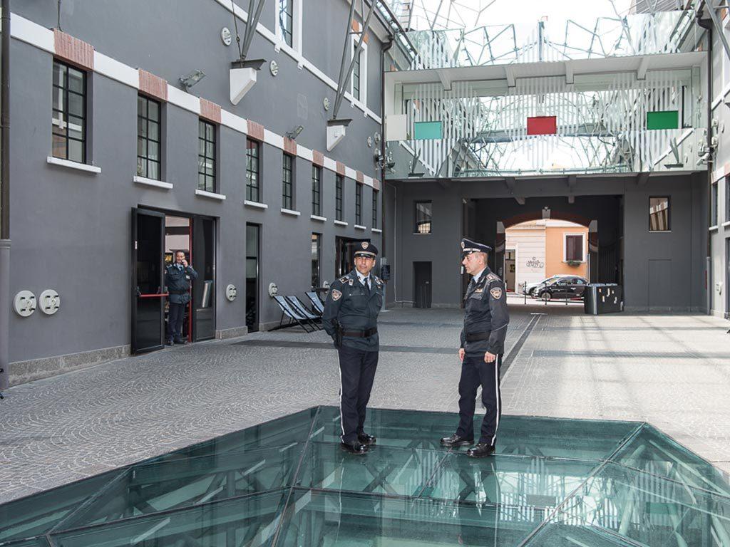 portierato e guardiania guardia giurata