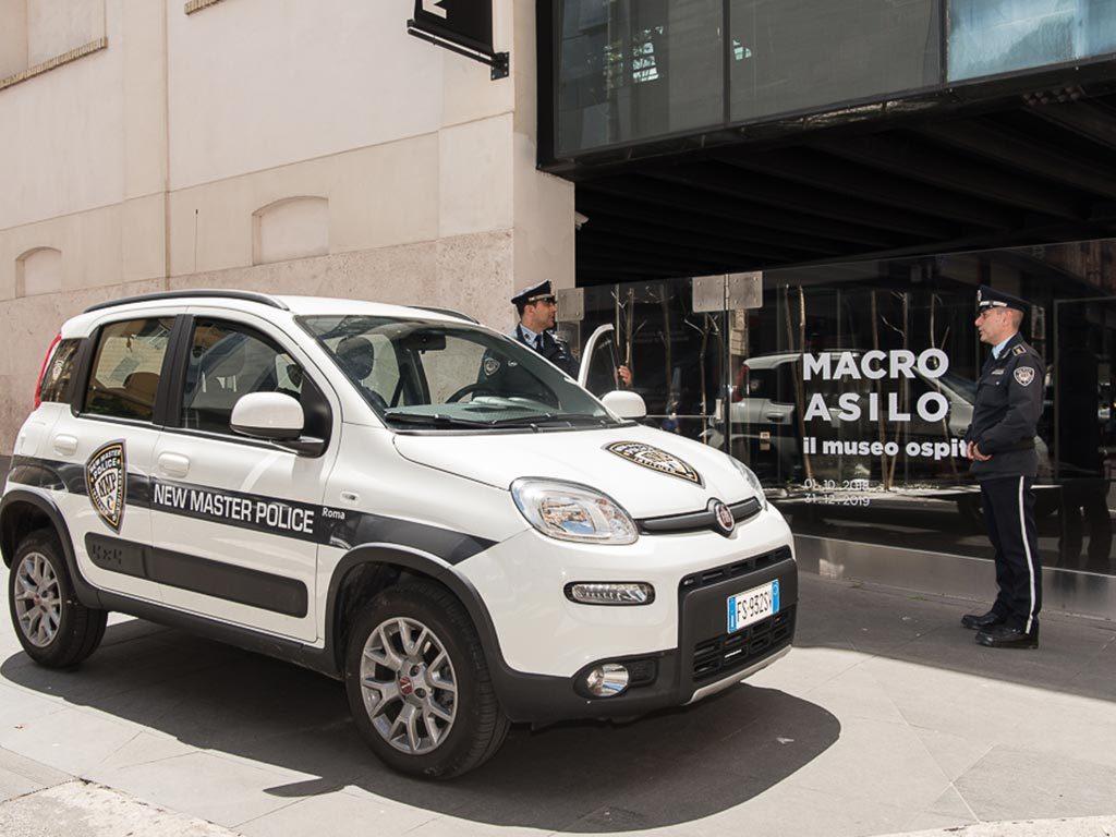 sicurezza non armata roma new master police