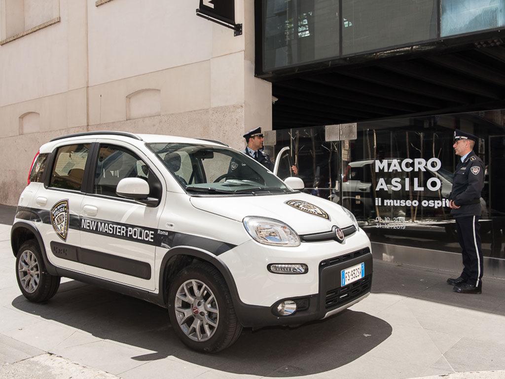 vigilanza nei musei new master police roma