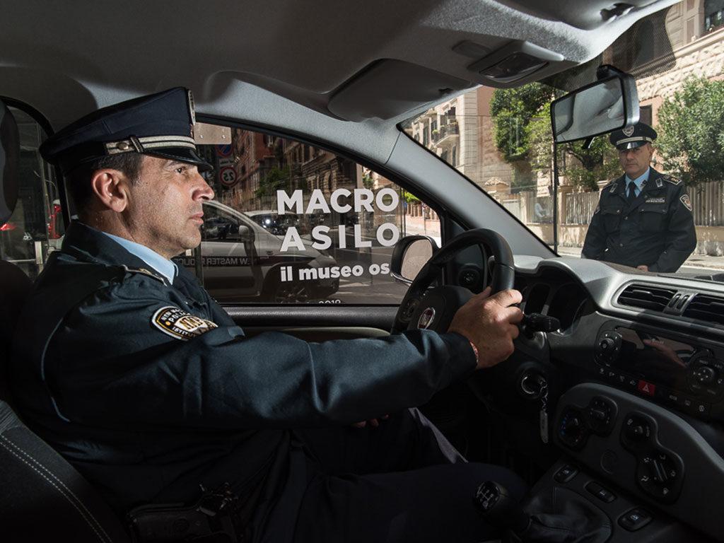 vigilanza armata musei roma new master police